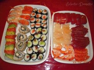 "Sushi ""before"" (Hahaha, get it?)"