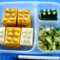 Lego Cheese and Bricks Lunch