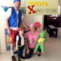DIY Family Costumes: Jake and the Never Land Pirates