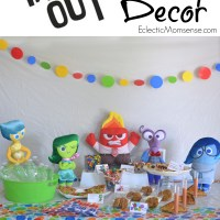 Disney PIXAR Inside Out Party Ideas
