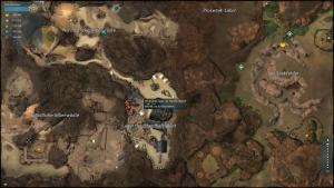 Karte der Silberwüste