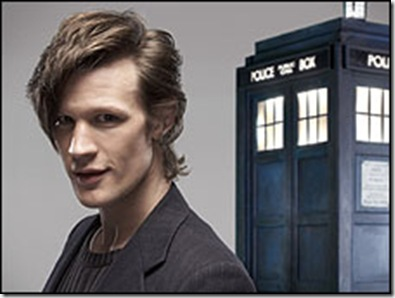 **THIS IMAGE IS UNDER STRICT EMBARGO UNTIL 18:10 HOURS SATURDAY 3RD JANUARY 2009**  Picture Shows: MATT SMITH - the eleventh DOCTOR WHO