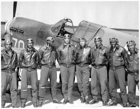 Red Tails - Real Tuskegee Airmen