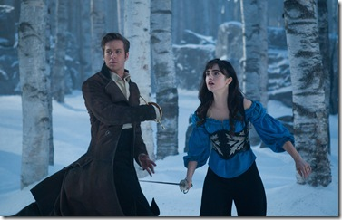 "Armie Hammer and Lily Collins star in Relativity Media's ""Mirror Mirror""."