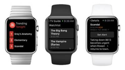 TV Guide Apple Watch App
