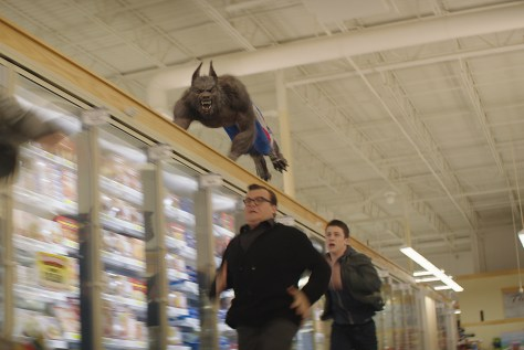 """Jack Black, left, and Dylan Minnette star in Columbia Pictures' """"Goosebumps."""""""