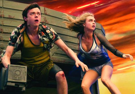 M-4VDF-16373afrpsd Final (Left to right.)   .Dane DeHaan, and Cara Delevingne star in EuropaCorp's  Valerian and the City of a Thousand Planets..Photo credit: Vikram Gounassegarin.© 2016 VALERIAN SAS Ð TF1 FILMS PRODUCTION.