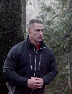 "AMERICAN GRIT: Host John Cena in the ""Tired Out/Over the FallsÓ special two-hour season finale of AMERICAN GRIT airing Thursday, June 9 (8:00-10:00 PM ET/PT) on FOX.  Cr: Olugbenro Ogunsemore/FOX"