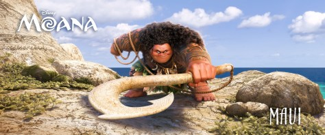 """DWAYNE JOHNSON (HBO's """"Ballers,"""" """"Central Intelligence"""") voices MAUI—half god, half mortal, all awesome. ©2016 Disney. All Rights Reserved."""