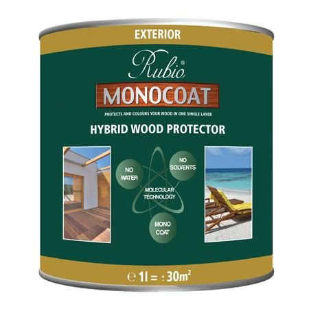 exterior hybrid wood protector rubio monocoat eco