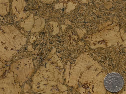 Cleopatra Negra Pattern - DuroDesign Cork Flooring