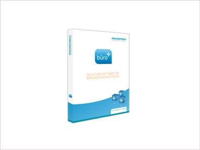 Büro+ von microtech - Die clevere Software für Einsteiger und Aufsteiger. Auftrag, Finanzbuchhaltung und Lohn in einem Paket
