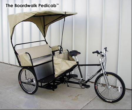 Mainstreet pedicab