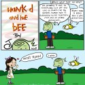 Hank D and the Bee: Gardening Tip