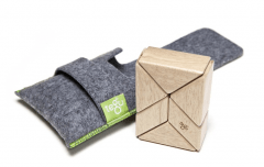 My Favorite Eco-Friendly Toy: Tegu Pocket Pouch Prism Magnetic Blocks