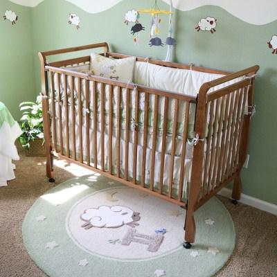 The Friendliest Materials for Baby's Bedrooms