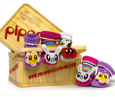 PipoPipo:  Super Cute Eco-Friendly Socks for Infants