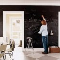 Eco-friendly children's rooms:  No VOC Lullaby Paints Chalkboard Paint