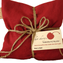 Hot Cherry Therapeutic Pillow:  Soothe your sore muscles with old Swiss tradition