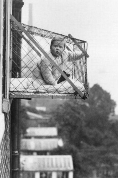 Would you trust your baby in this cage?