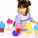 SipSnap:  Universal sippy cup and straw lids for any cup!