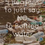 5 reasons to just say NO to bottled water