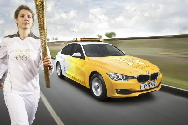 BMW puts Olympics green fleet into motion