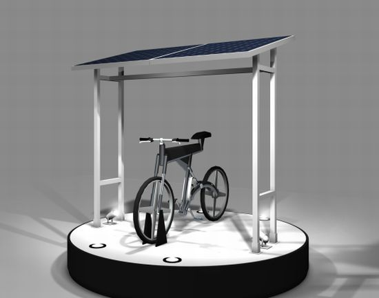 bosch solar powered electric bike 1