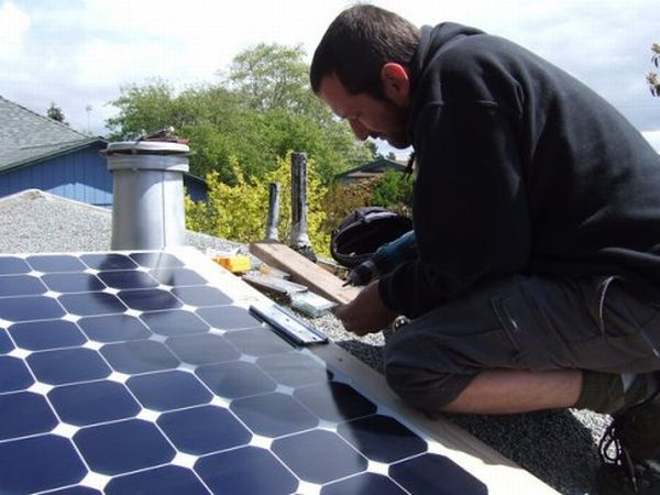 Building your own solar panels