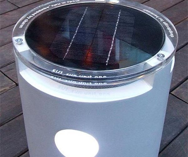DeepDesign's Disko Solar-Powered Outdoor Speaker