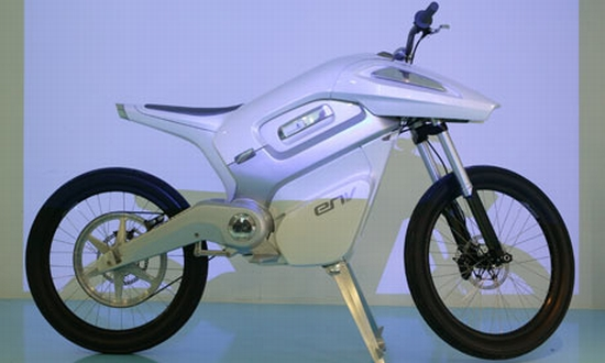 fuel cell motorcycle concept