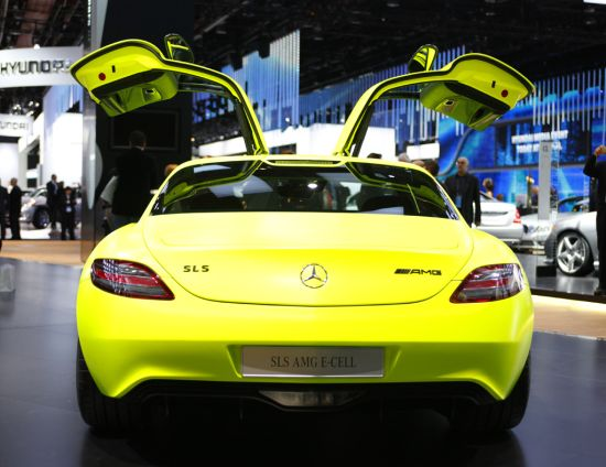 mercedes benz sls amg e cell 3