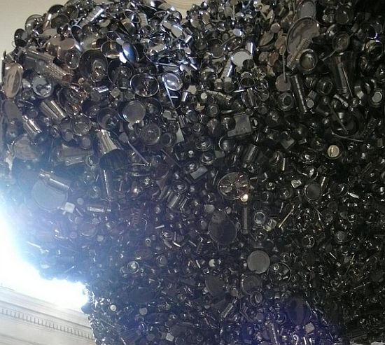 mushroom cloud sculpture by subodh gupta 3