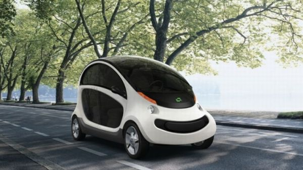 Peapod neighborhood electric vehicle