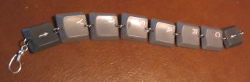 recycled keyboard jewelry1