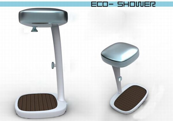 Self-powered Eco Shower