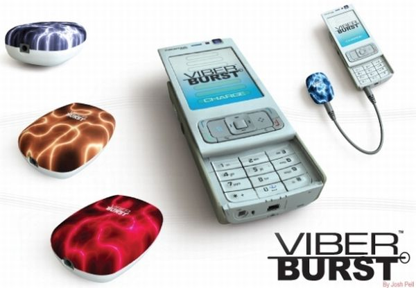 Viber Burst kinetic energy charger