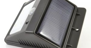 Eco Wedge Solar Motion Welcome Light (2)
