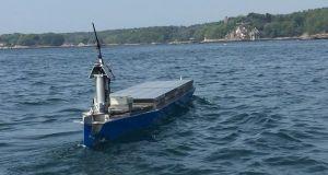 Autonomous solar powered boat  (1)