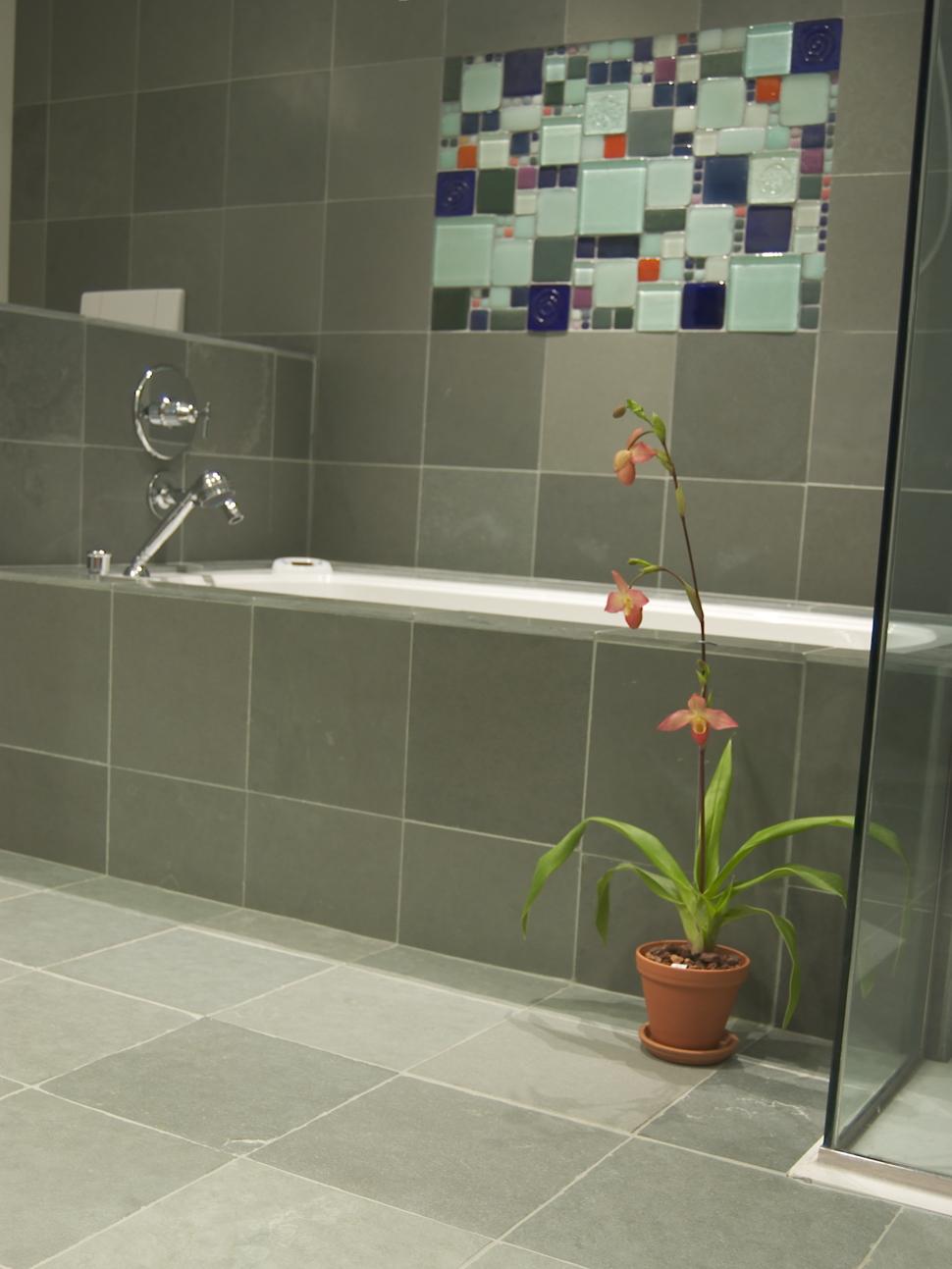Stone tile gallery eco friendly flooring bluestone slates for your organic spa dailygadgetfo Gallery