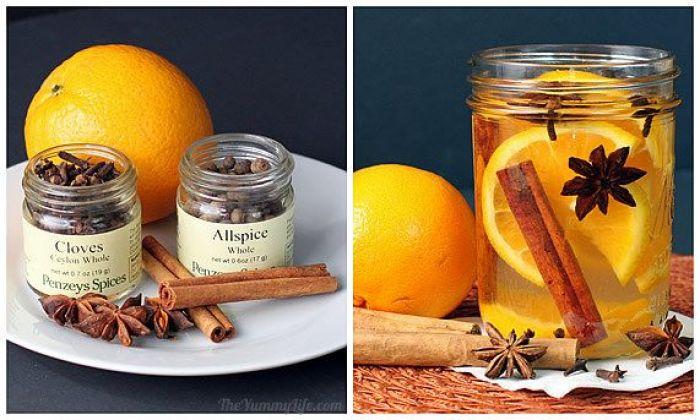Aromatizante casero receta especias
