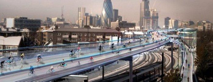Autopista bicicletas londres