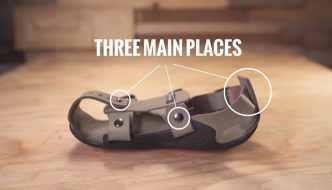 Zapatos que crecen con los niños. Sandalias que crecen 5 tallas en 5 años para ayudar a millones de niños pobres