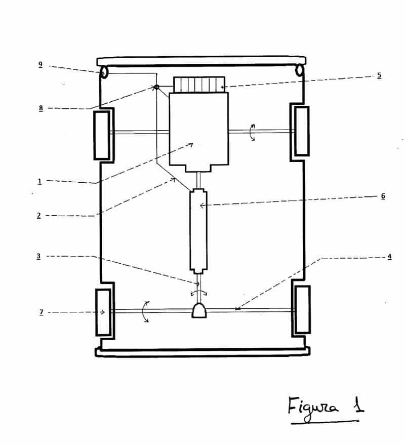 Sistema de auto-recarga para vehículos eléctricos figura 1