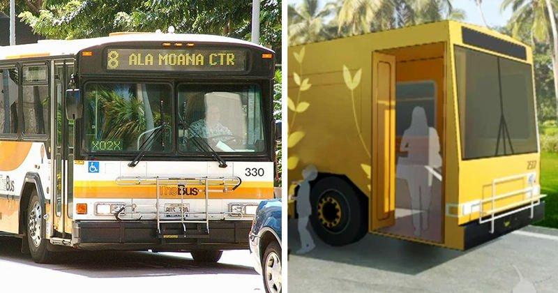 Hawai convierte 70 autobuses jubilados en refugios para personas sin techo 2