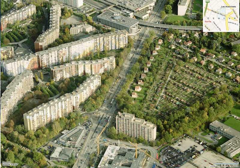 La ciudad donde cada habitante tiene su propio huerto urbano aerea