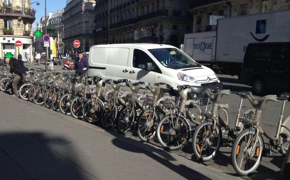 Sistemas de alquiler de bicis eléctricas