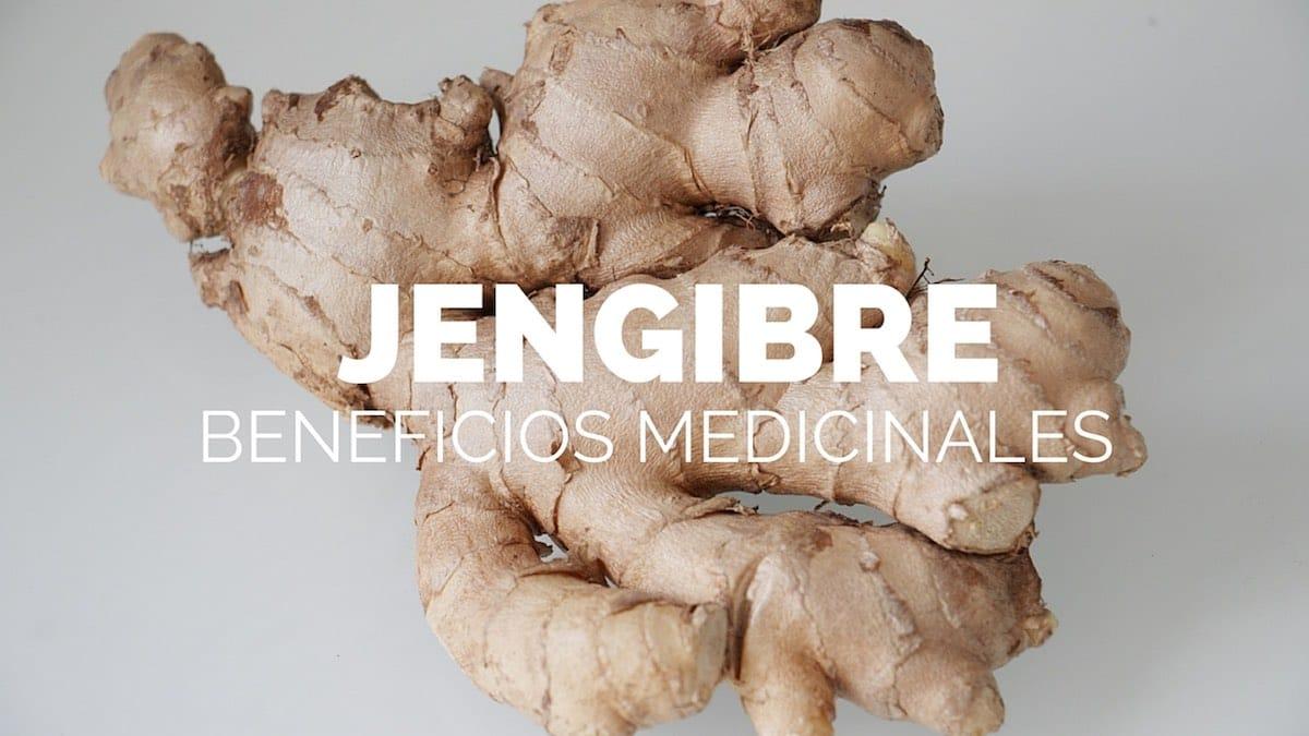 Beneficios medicinales jengibre