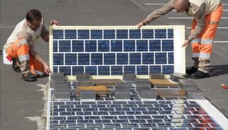 Francia quiere pavimentar 1000 km de sus carretera con paneles solares