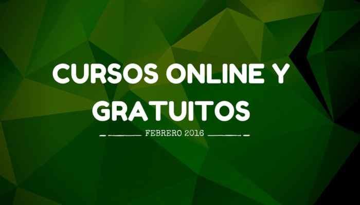 Cursos online y gratuitos que se inician en febrero